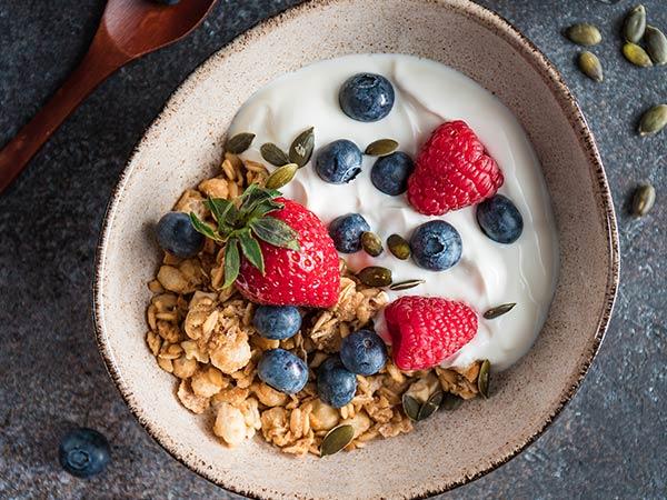 Porridge Brunch Frühstück